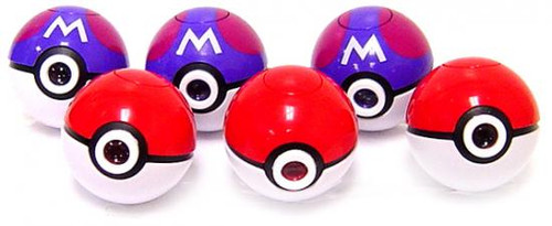 Pokemon Set of 6 Micro-Pokeball Image Projector Lights