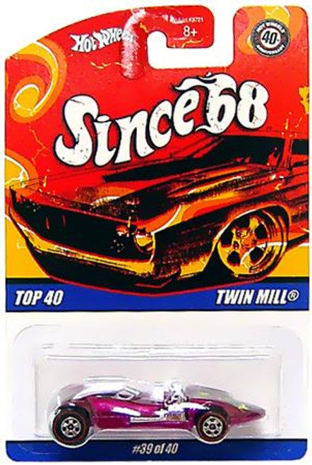 Hot Wheels Since '68 Top 40 Twin Mill Diecast Vehicle #39