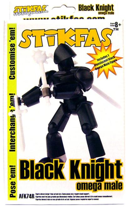 Stikfas Omega Male Black Knight Action Figure Kit