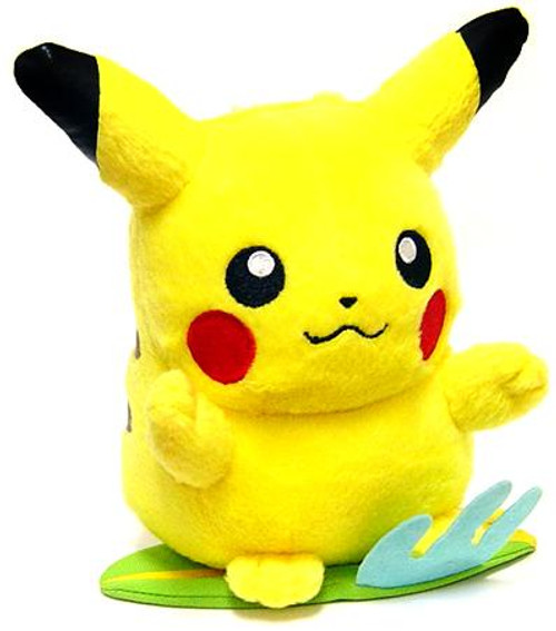 Pokemon Diamond & Pearl 5 Inch Pikachu Plush [Standing on Surfboard]