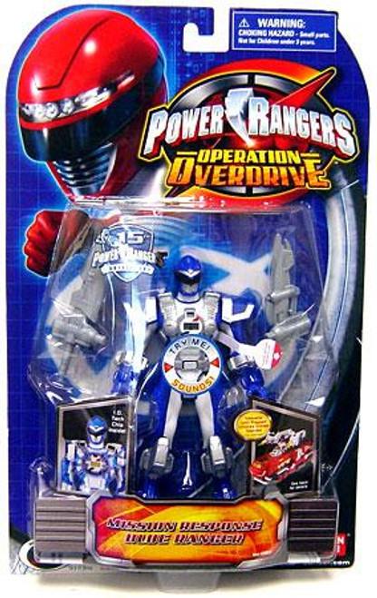 Power Rangers Operation Overdrive Mission Response Blue Ranger Action Figure