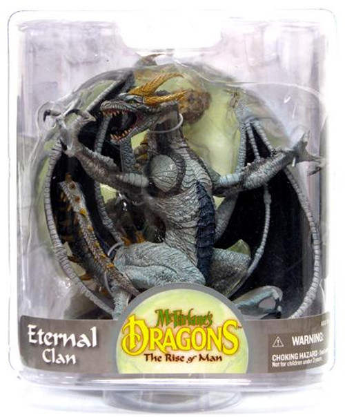 McFarlane Toys McFarlane's Dragons The Rise of Man Series 7 Eternal Dragon Action Figure