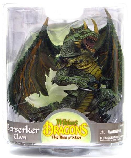 McFarlane Toys McFarlane's Dragons The Rise of Man Series 7 Berserker Dragon Action Figure