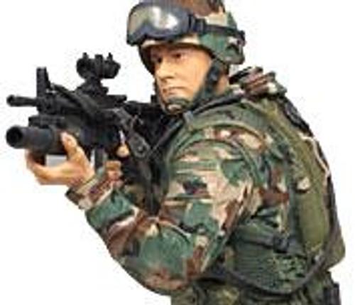 McFarlane Toys McFarlane's Military 3 Inch Series 1 Army Paratrooper Mini Figure [Random Ethnicity]