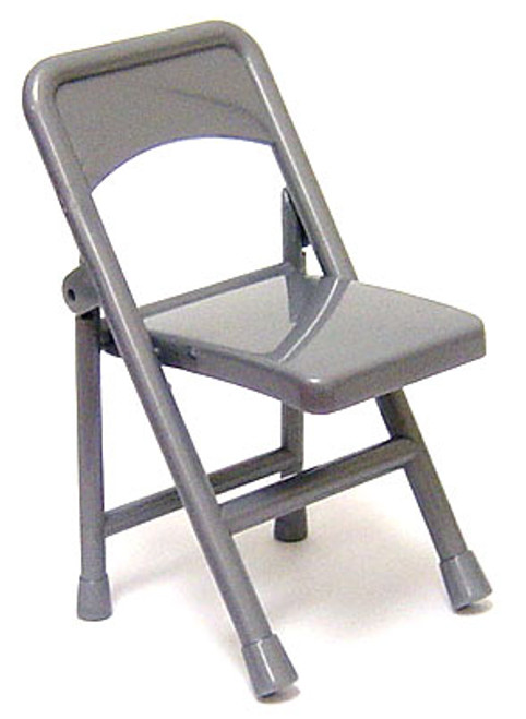 WWE Wrestling Folding Chair Action Figure Accessory [Silver Loose]