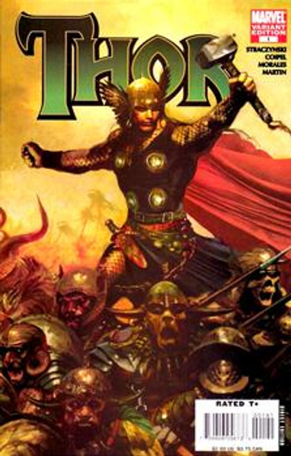 Marvel Return of Thor Comic Book #1 [Non-Zombie Variant Cover]