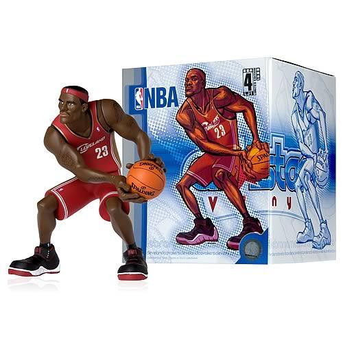 NBA Cleveland Cavaliers All Star Vinyl LeBron James Vinyl Figure [Red Away Jersey]