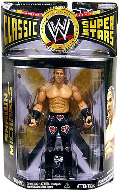 "WWE Wrestling Classic Superstars Series 15 Shawn Michaels ""Screw Job Match"" Action Figure"