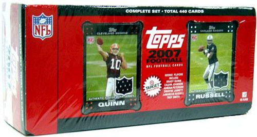 NFL 2007 Topps Football Cards Exclusive Complete Set [Factory Sealed]