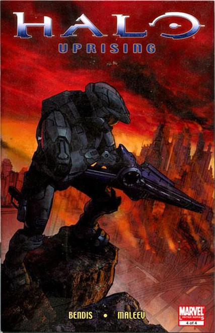 Halo 3 Uprising Part 4 of 4 Comic Book