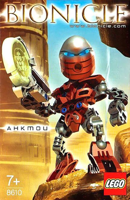 LEGO Bionicle Matoran of Metru Nui Ahkmou Set #8610