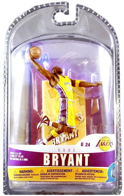 McFarlane Toys NBA Los Angeles Lakers Sports Picks 3 Inch Mini Series 5 Kobe Bryant Mini Figure
