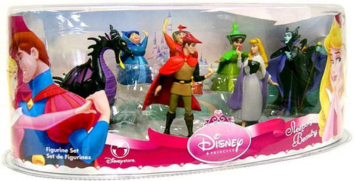 Disney Princess Sleeping Beauty Figurine Set Exclusive PVC Figures