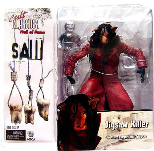 NECA Saw III Cult Classics Hall of Fame Jigsaw Killer Action Figure [Saw III]