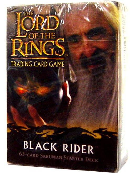 The Lord of the Rings Trading Card Game Black Rider Sarumon Starter Deck
