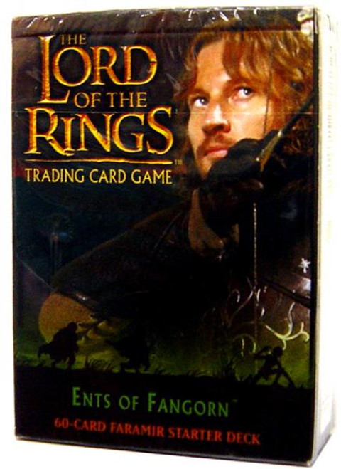 The Lord of the Rings Trading Card Game Ents of Fangorn Faramir Starter Deck