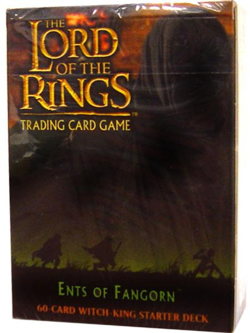 The Lord of the Rings Trading Card Game Ents of Fangorn Witch-King Starter Deck