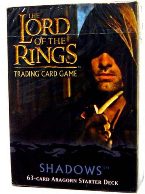 The Lord of the Rings Trading Card Game Shadows Aragorn Starter Deck