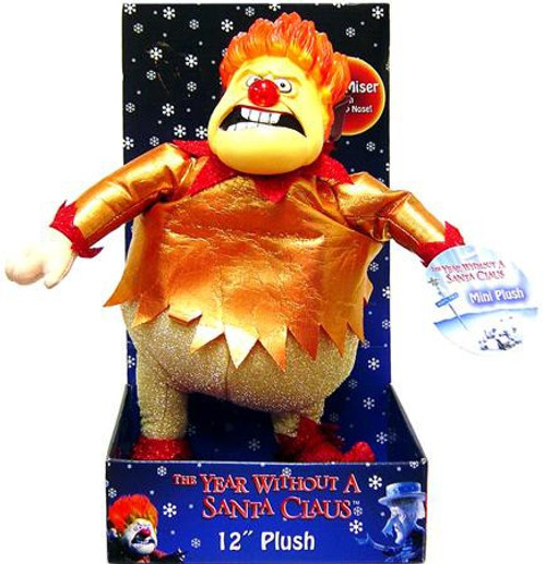 NECA The Year Without Santa Claus Heat Miser 12-Inch Plush