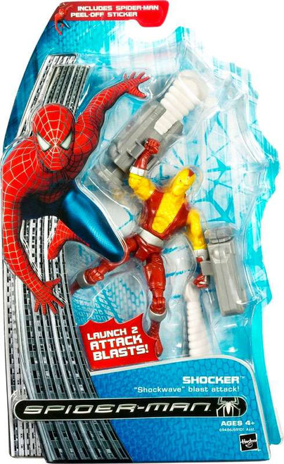 Spider-Man 3 Shocker Action Figure