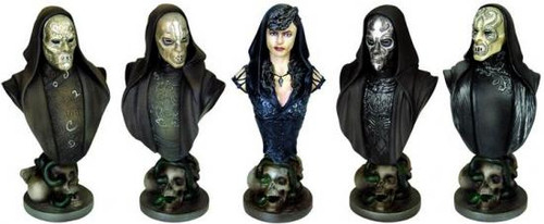 Harry Potter The Order of the Phoenix Bust Ups Death Eater Bust 5-Pack