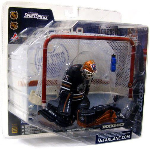 McFarlane Toys NHL Edmonton Oilers Sports Picks Series 2 Tommy Salo Action Figure [Blue Jersey]