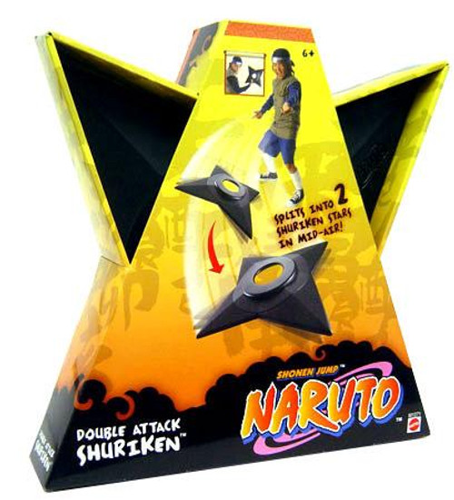 Naruto Double Attack Shuriken Roleplay Toy