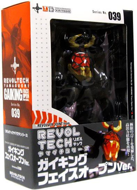 Legend of Daiku-Maryu Revoltech Gaiking Action Figure #039 [Open-Face]