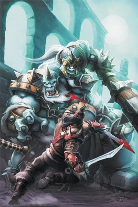 Wildstorm World of Warcraft Comic Book #2