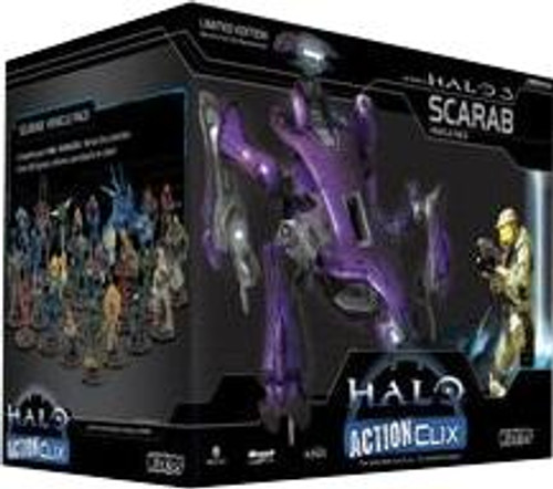 Halo ActionClix Scarab Deluxe Figure