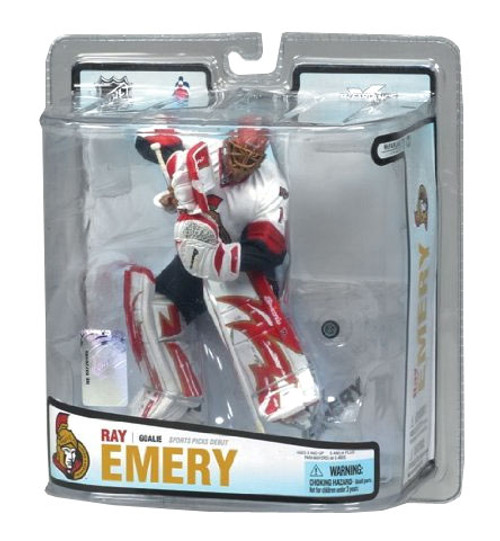 McFarlane Toys NHL Ottawa Senators Sports Picks Series 18 Ray Emery Action Figure