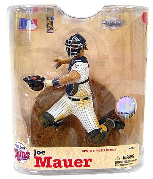 McFarlane Toys MLB Minnesota Twins Sports Picks Series 21 Joe Mauer Action Figure