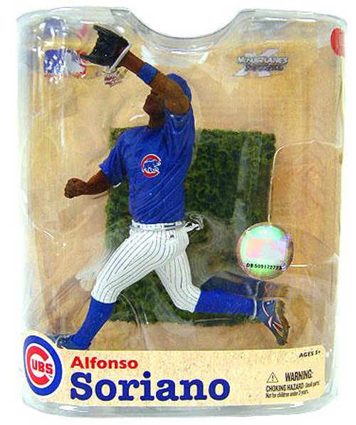 McFarlane Toys MLB Chicago Cubs Sports Picks Series 21 Alfonso Soriano Action Figure [Blue Clubs Jersey]