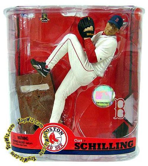 McFarlane Toys MLB Boston Red Sox Sports Picks Series 22 Curt Schilling Action Figure