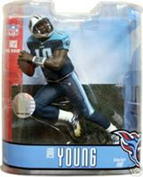 McFarlane Toys NFL Tennessee Titans Sports Picks Series 15 Vince Young Action Figure [Blue Pants Variant]