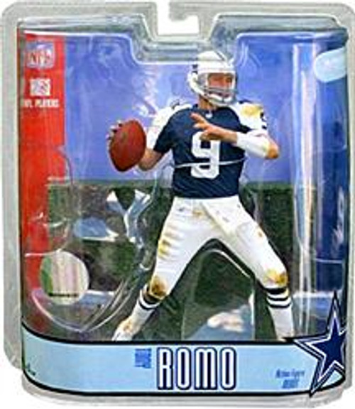 McFarlane Toys NFL Dallas Cowboys Sports Picks Series 15 Tony Romo Action Figure [Thanksgiving Day Blue Jersey Variant]