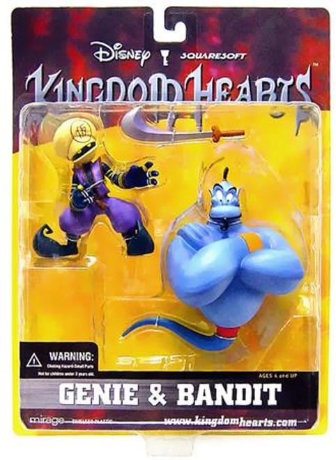 Disney Kingdom Hearts Series 2 Genie & Bandit Arena Pack [Damaged Package]