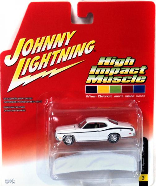 Johnny Lightning High Impact Muscle 1971 Plymouth Duster 340 Diecast Car #3