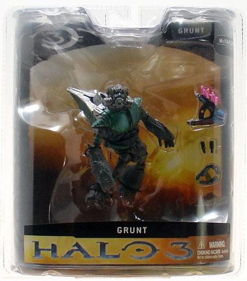 McFarlane Toys Halo 3 Series 1 Grunt Action Figure [Green]