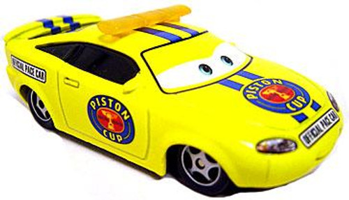 Disney Cars Loose Piston Cup Pace Car Charlie Checker Diecast Car [Loose]