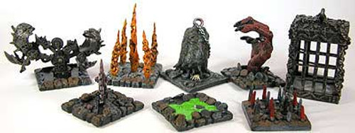 Mage Knight 3D Dungeons Trap Pack Accessory Kit