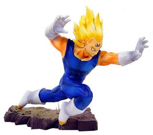 Dragon Ball Z Super Saiyan Majin Vegeta 5-Inch PVC Statue