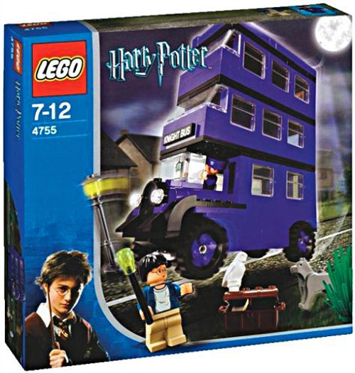 LEGO Harry Potter Series 1 Prisoner of Azkaban Knight Bus Set #4755