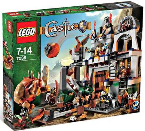 LEGO Castle Dwarves Mine Set #7036