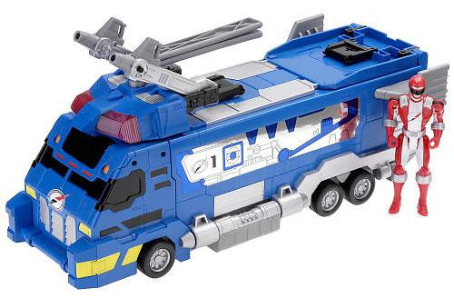 Power Rangers Operation Overdrive Drivemax Command Truck Action Figure Vehicle