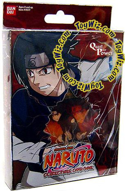 Naruto Card Game Quest for Power Sasuke Theme Deck [Red]