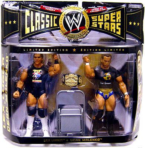 WWE Wrestling Classic Superstars Series 7 Lex Luger & Dean Malenko Exclusive Action Figure 2-Pack