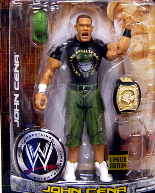 WWE Wrestling Ruthless Aggression Limited Editions John Cena Exclusive Action Figure [Marine Gear]