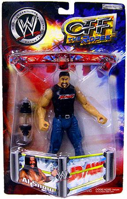WWE Wrestling Off The Ropes Series 6 Al Snow Action Figure