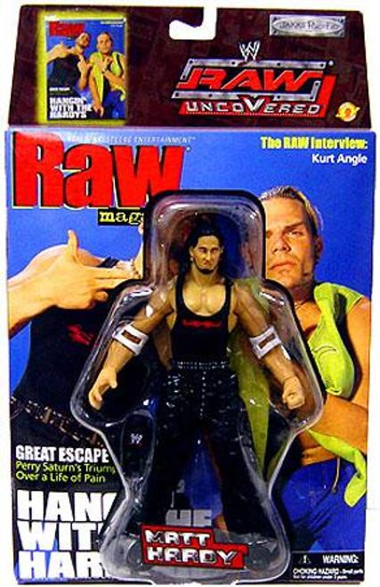 WWE Wrestling Raw Uncovered Series 2 Matt Hardy Action Figure